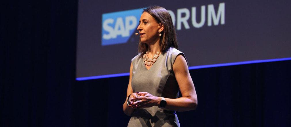 Cristina Palmaka, presidente da SAP Brasil fala sobre o ERP SAP S/4HANA Public Cloud